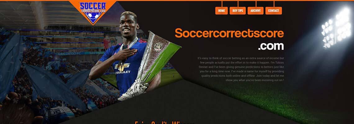 Soccer Correct Score Prediction Sites - soccercorrectscore com
