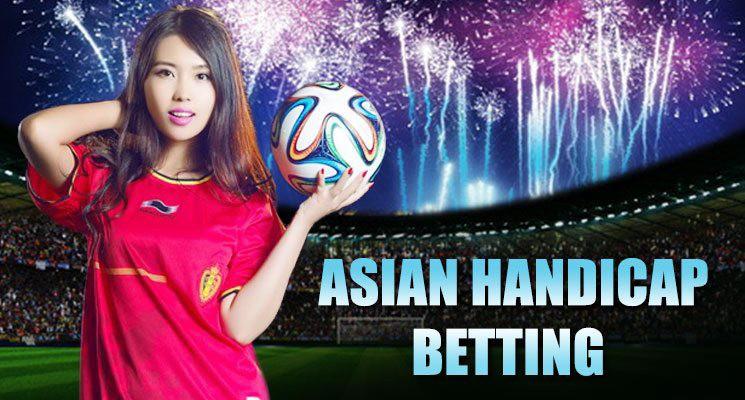 Asian handicap wager