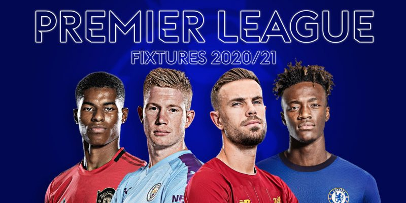 When are English Premier League 2021 fixtures announced?