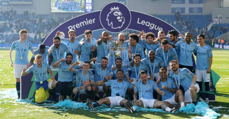 Who won the English premier league 2019?