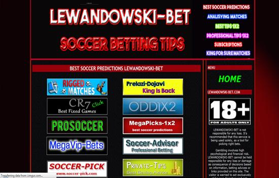 lewandowski-bet com, Info, Review, Fraud, Scam, Blacklist Tipsters